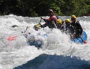 Takamaka La Plagne rafting