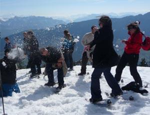 Badaboule des neiges