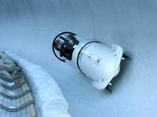 sport hiver la plagne bobsleigh
