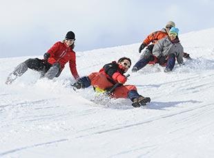 sport hiver la plagne luge