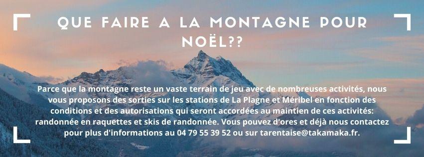 ACTIVITÉS NOEL LA PLAGNE